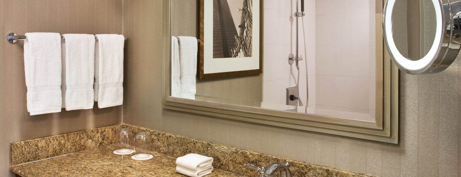 The Westin Copley Place, Boston studio suite bathroom