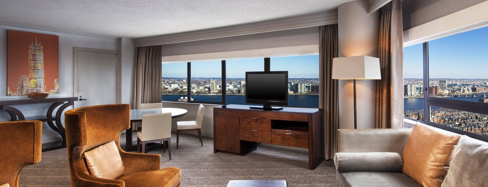 The Westin Copley Place Boston deluxe one bedroom suite
