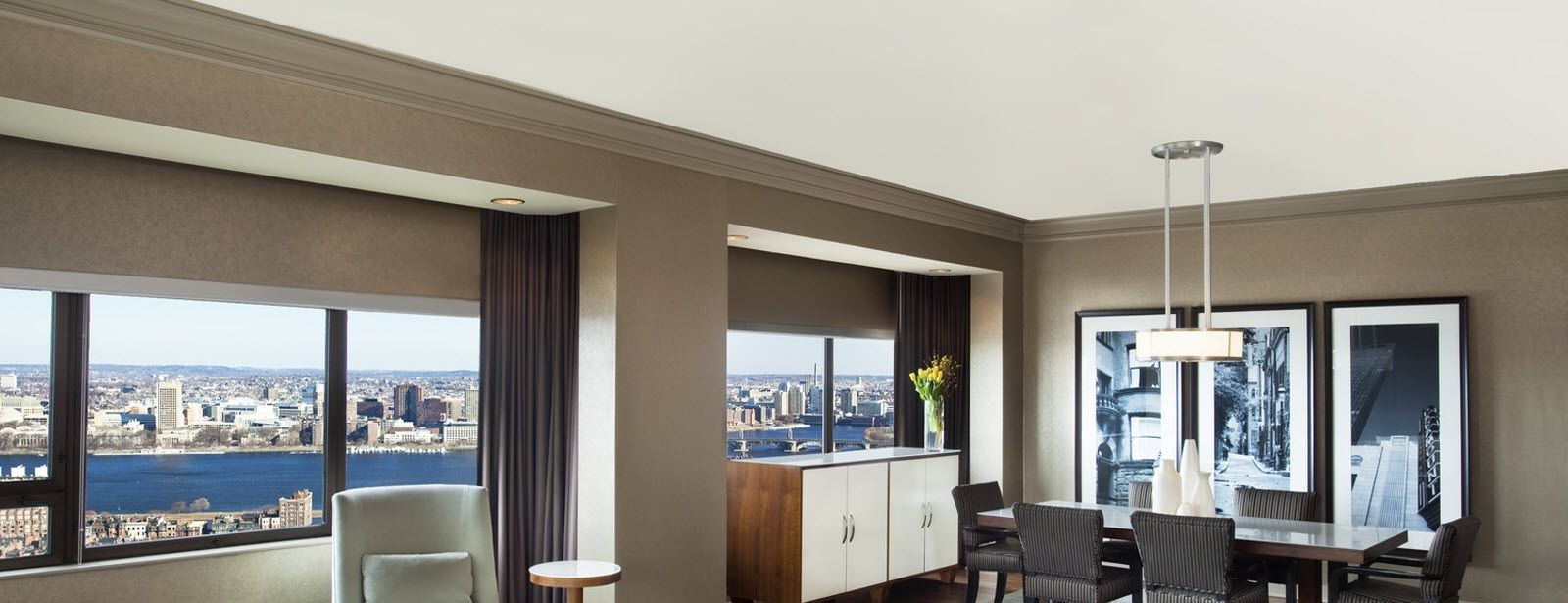 The Westin Copley Place Boston imperial suite view